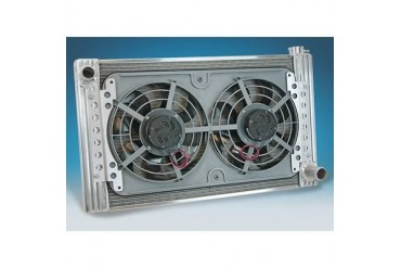 Flex-A-Lite Flex-A-Lite Radiator And Fan Package 56480L Radiator Electric Fan Combination Kit