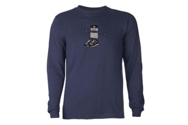 Robot Long Sleeve Dark T-Shirt by CafePress