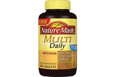 Nature Made Multivitamin Multi Daily Value Size Bottle