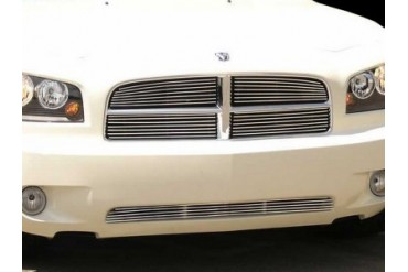 Grillcraft BG Series Bumper Billet Grille Dodge Charger 06-08