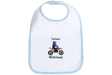 Future MXer Boy Sports Bib by CafePress