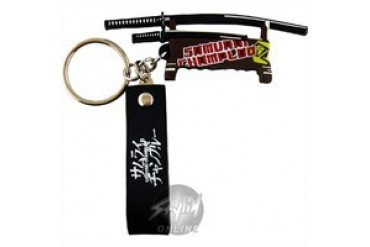 Samurai Champloo Swords Flexible Keychains