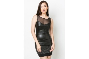 ​Studded Band Dress