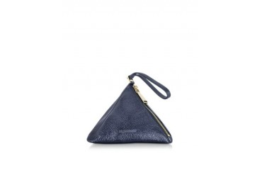 Dark Blue Metallic 3Angle Clutch