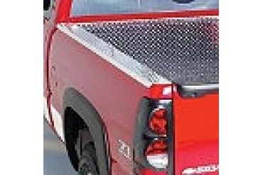 2007-2011 Chevrolet Silverado 1500 Bed Rail Cap Willmore Manufacturing Chevrolet Bed Rail Cap BR1342-TB