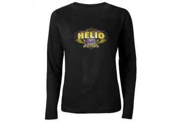 Team Helio Women's Dark Long Sleeve T-Shirt Celebrity Women's Long Sleeve Dark T-Shirt by CafePress