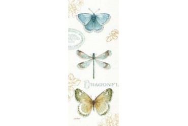 My Greenhouse Butterflies V Poster Print by Audit Lisa (24 x 48)