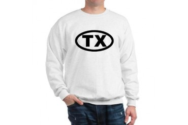 TX Texas Sweatshirt by CafePress