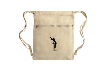 pole dancer 3 Sack Pack Sex Cinch Sack by CafePress
