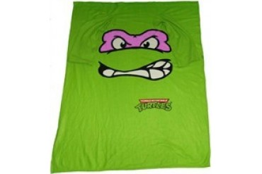 Ninja Turtles Donatello Face Sleeved Blanket