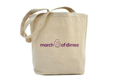 March of Dimes March of dimes Tote Bag by CafePress