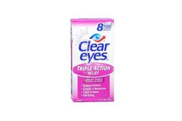 Clear Eyes Triple Action Relief Eye Drops 0.5 oz