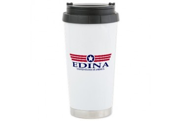Edina Pride Minnesota Ceramic Travel Mug by CafePress