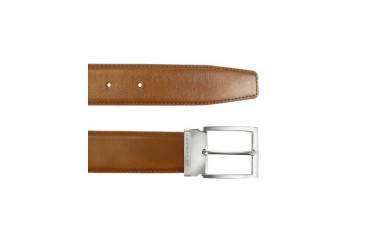 York - Tan Calf Leather Belt