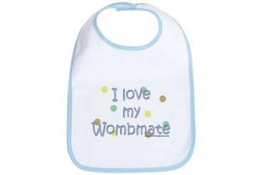 I love my Wombmate Humor Bib by CafePress