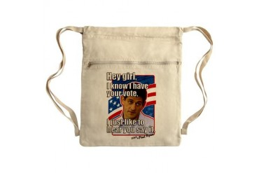 Paul Ryan Say it Sack Pack Funny Cinch Sack by CafePress