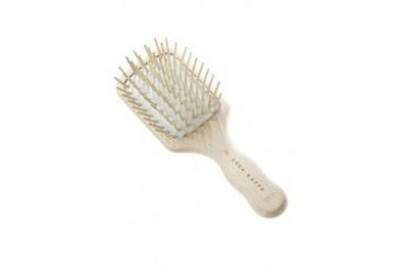 ACCA KAPPA Beechwood Pneumatic Paddle Brush - Travel Size