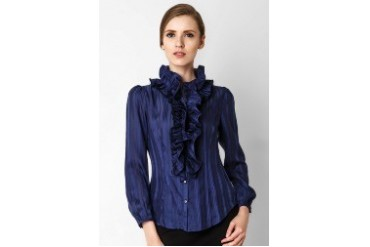 Accent Renee Double Ruffles Blouse