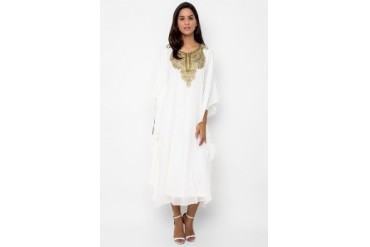 Chanira Long Kaftan Dress