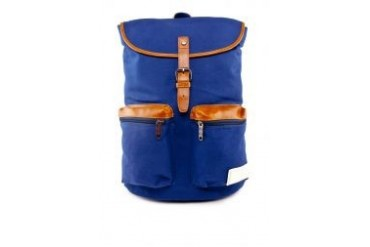 High Cultured Leatherette Buckle Backpack