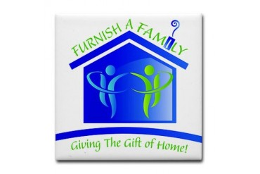 Giving the Gift of Home Family Tile Coaster by CafePress