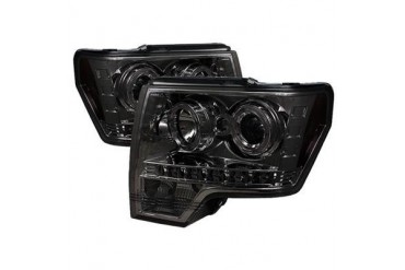 Spyder Auto Group Halo LED Projector Headlights 5010254 Headlight Replacement