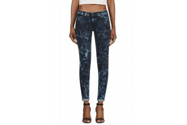 Rag And Bone Indigo Acid Wash The Skinny Jeans