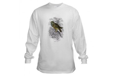 Night Owl Bird Vintage Long Sleeve T-Shirt by CafePress