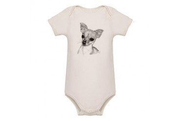 Chihuahua Pets Organic Baby Bodysuit by CafePress