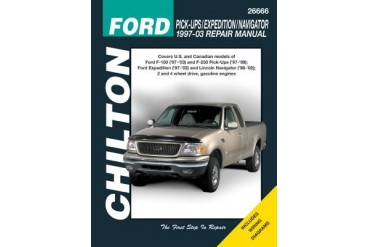 1997-2009 Ford Expedition Manual Chilton Ford Manual 26666 97 98 99 00 01 02 03 04 05 06 07 08 09