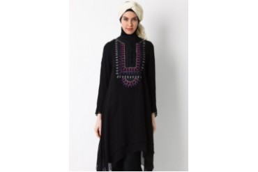 Sofie Design Tunik Bordir Payet Hitam