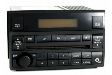 Nissan Altima 2005-06 Radio AM FM CD w Aux Input Speed Vol Ctrl 28185ZB10B