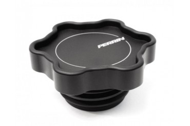 Perrin Performance 6-Point Oil Filler Cap Black Subaru Forester XT 04-12