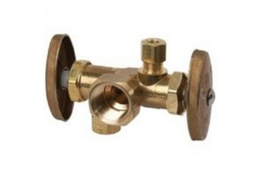 Brass Craft R1701Dvx R Dual Outlet Shut-Off Valve