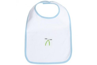 Baby bean Bib by CafePress