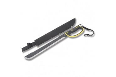 Frost Survival Machete - Black and Yellow