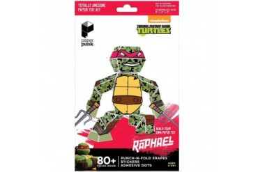 TMNT Raphael Paper Punk Action Figure