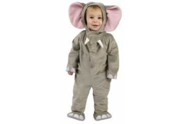 Cuddly Elephant Infant Toddler Halloween Costume