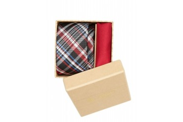 Original Penguin STRAIGHT TIE AND POCKET SQUARE GIFT SET