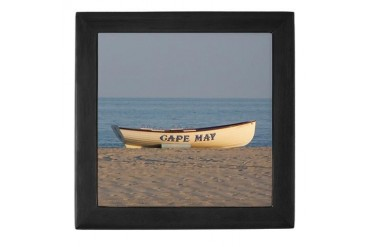 Cape May Beach Keepsake Box by CafePress