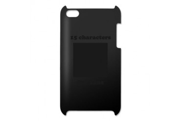 Your Picture Your Text iPod Touch 4 Case