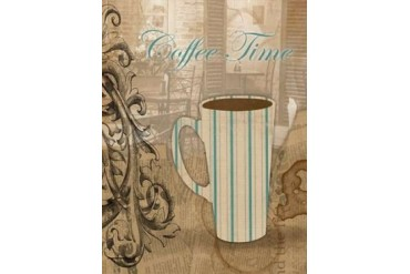 Coffee Time Poster Print by Jace Grey (18 x 24)