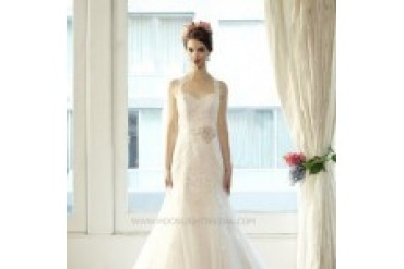 "Moonlight Couture ""In Stock"" Wedding Dress - Style H1227"