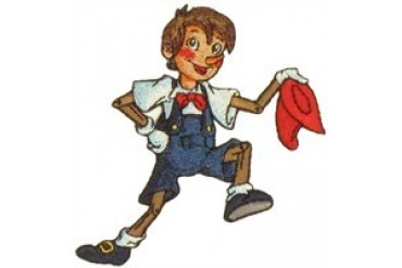 Pinocchio Doffing Hat Patch