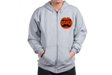 Halloween head Halloween Zip Hoodie by CafePress
