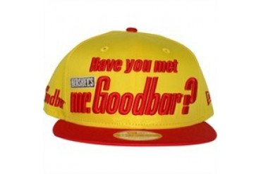 Hershey's Mr. Goodbar Have You Met Mr. Goodbar? Slogan 9Fifty Embroidered Sized Snapback Hat