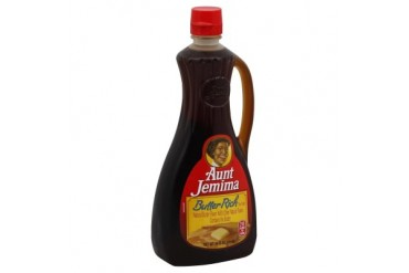 Aunt Jemima Butter Rich Pancake Waffle Syrup 24 oz