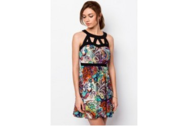 Kitschen Paisley Dress