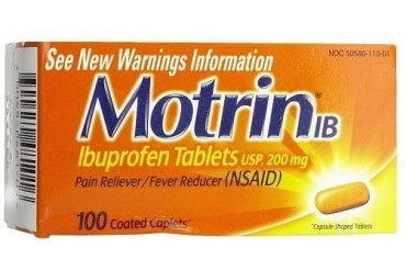 Motrin IB Pain Reliever amp Fever Reducer Coated Caplets