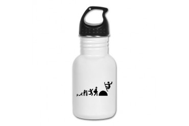 Snowboarding Sports Kid's Water Bottle by CafePress